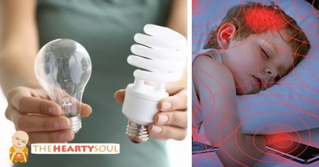 These Light Bulbs Cause Anxiety, Migraines, And Even Cancer. If You Have Them, Do This Immediately!