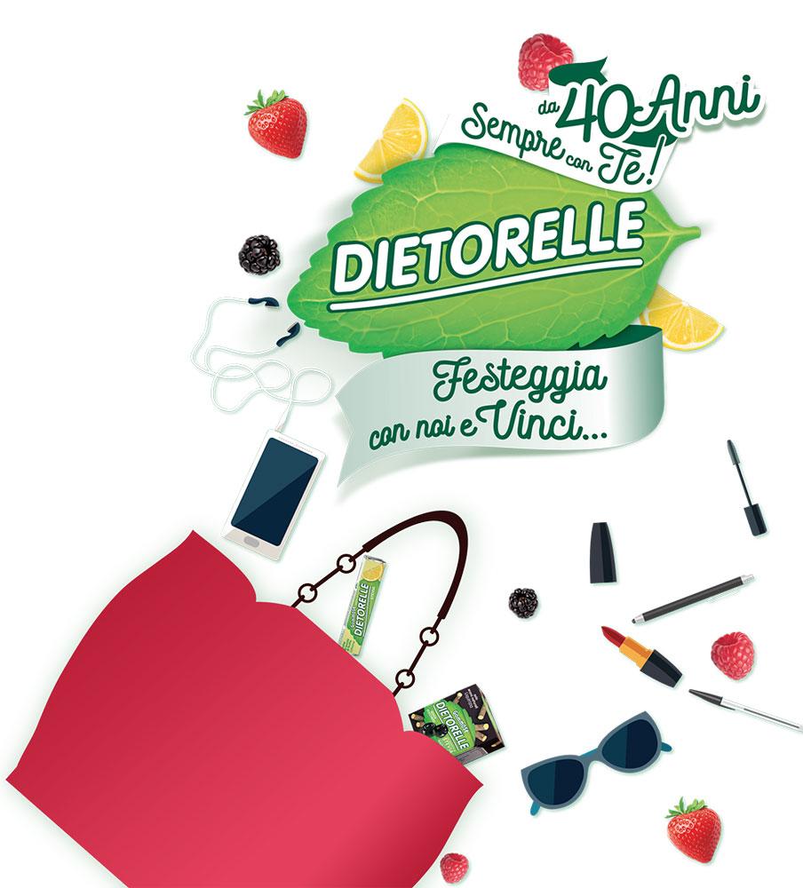 Dietorelle festeggia 40 anni e scopri come vincere una bellissima borsa Le Pandorine!