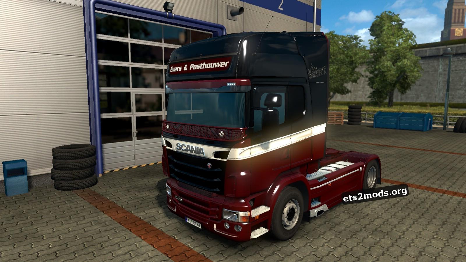 Scania RJL Evers & Posthouwer Skin