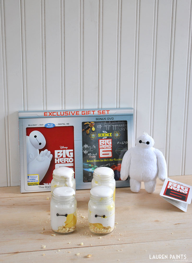 Big Hero 6 + My Mini Baymax in a Jar Honey-Lemon Meringue Pie Recipe