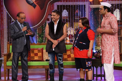 Singer Sukhwinder Singh on Comedy Nights Live