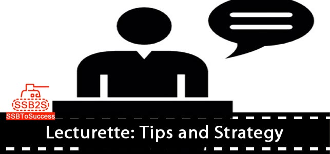 Lecturette : Tips and Strategy