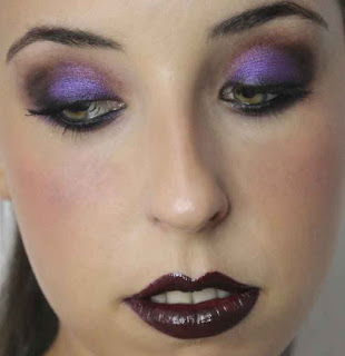 Maquillaje para Halloween Imangen de Mery Make Up