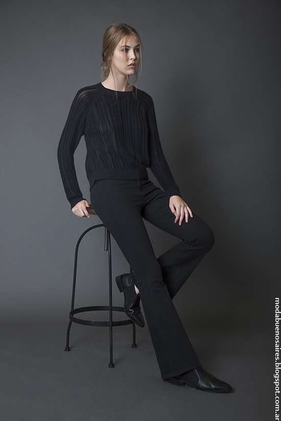 Moda mujer invierno 2016 ropa Bled. Moda 2016.
