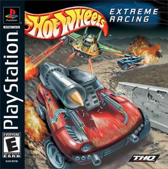 Hot Wheels Extreme Racing Popstarter Vcd Mega Ps2 Playstation