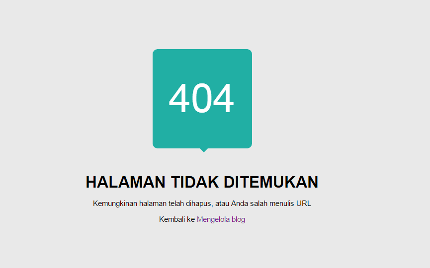 Cara menangani error 404 di Search Console