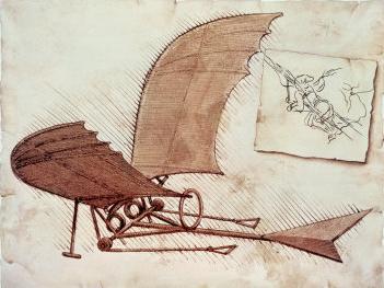 Review: Da Vinci's Flying Machine | IPMS/USA Reviews |Leonardo Da Vinci Flying Machine