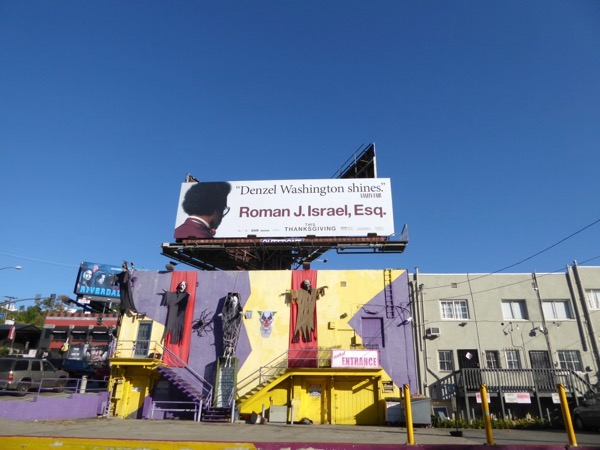 Roman J Israel Esq film billboard