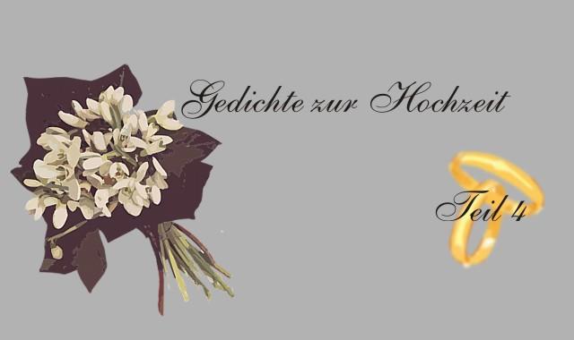 Ehering und Blumenstrauß