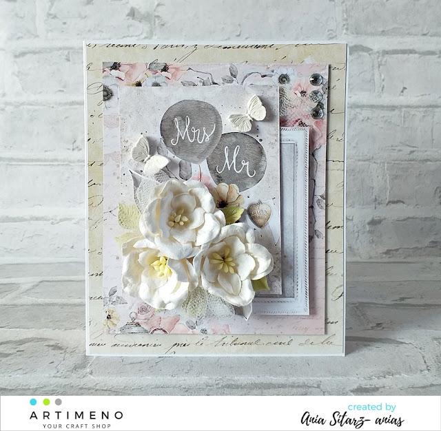 dekoracja na kartkce