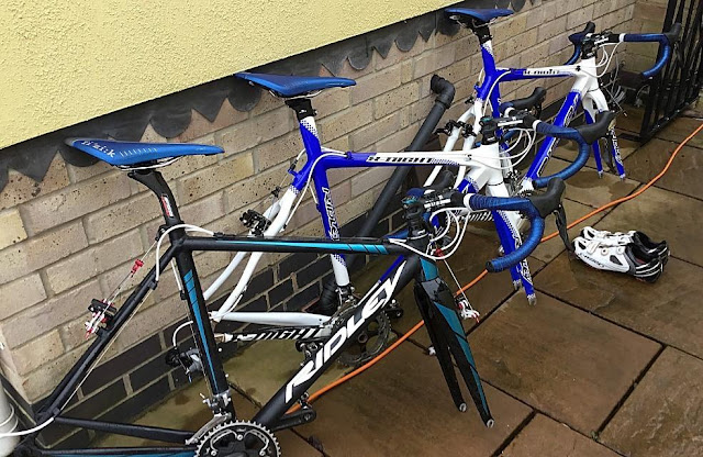 Bikes owned by Harvey Levann, from Leicester, stolen during British Cycling National Cycle-Cross Championships in Peel Park