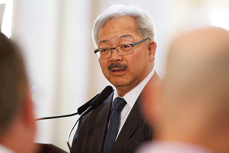 R.I.P Ed Lee, San Francisco's First Asian American Mayor