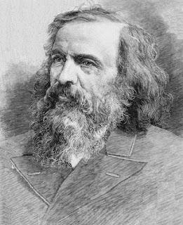 retrato de dmitri ivanovich mendeleev