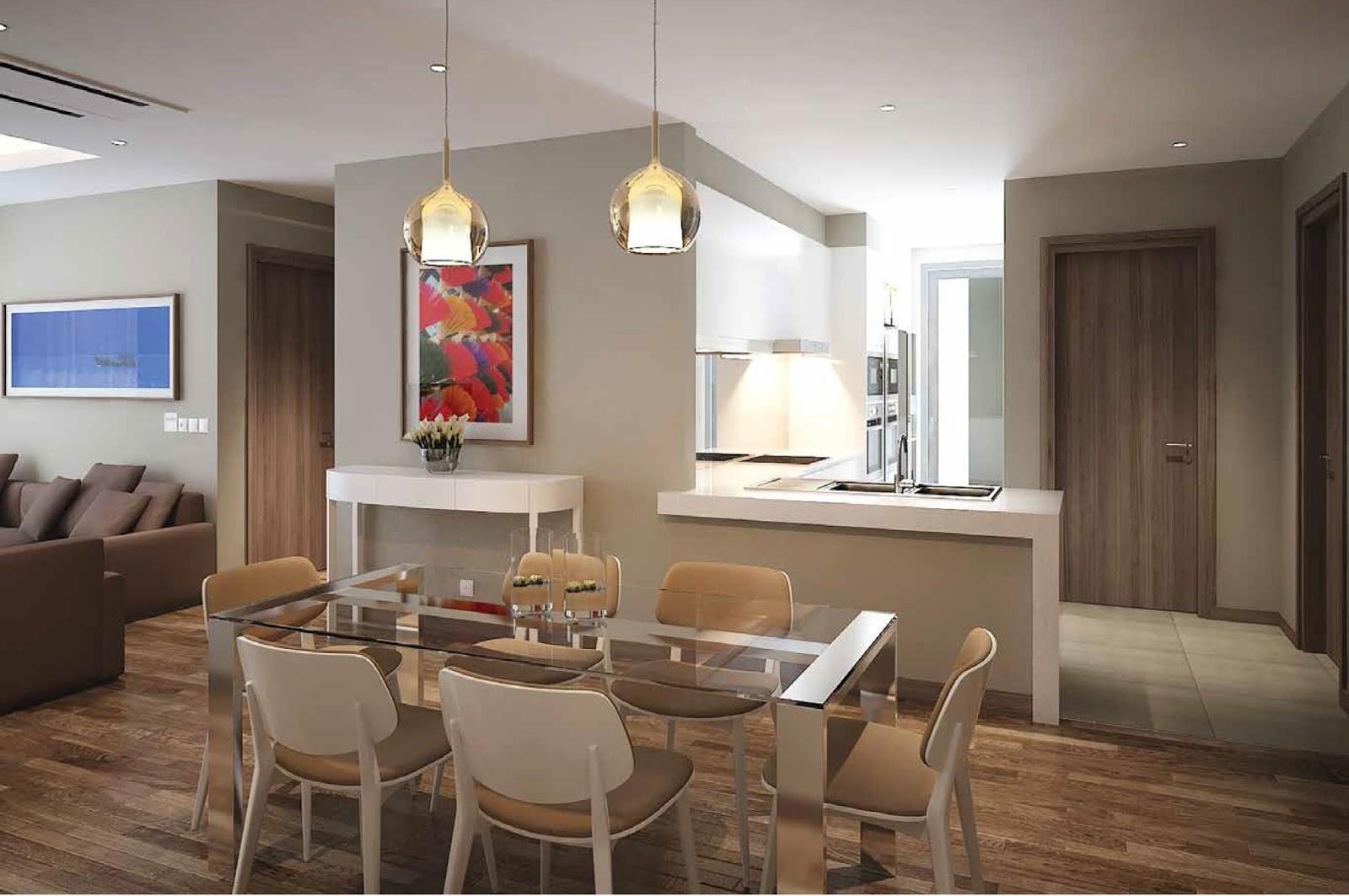 Thiết kế nội thất phòng khách chung cư Phú Mỹ Complex - sang trọng, hiện đại