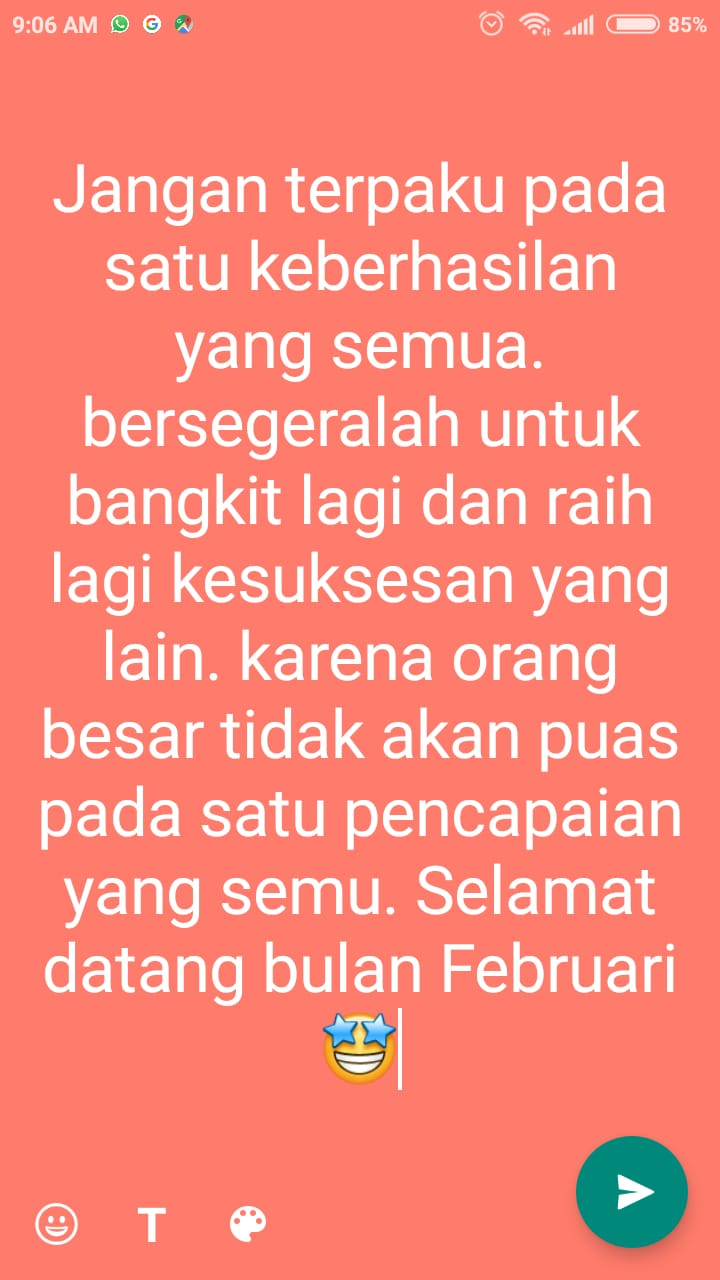 caption  bulan februari