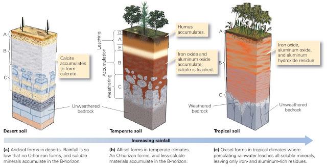 Soil learning geology for Soil 4 climate