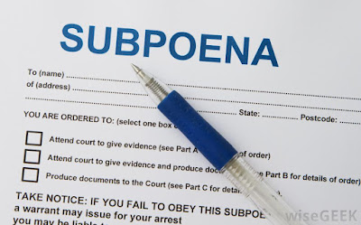 subpoena for traffic camera video