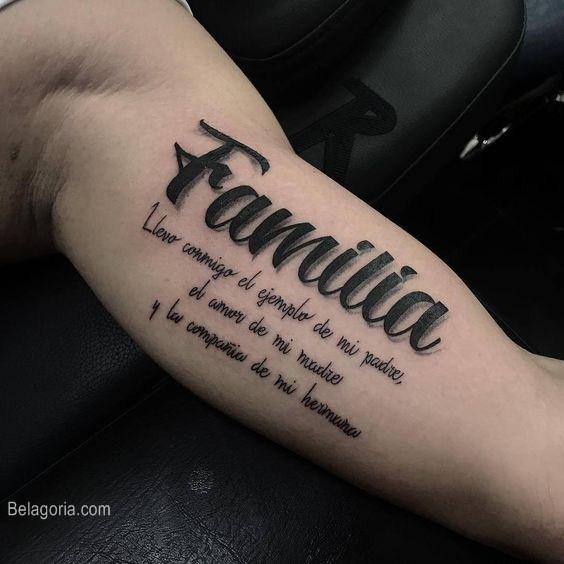 Tatuajes De Familia Para Mujer