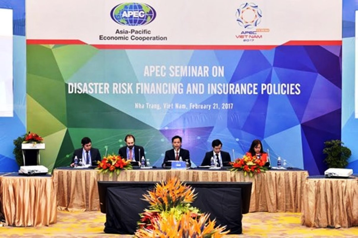 APEC experts debate disaster risk financing, insurance policies. At the seminar on Feb. 21. Vietnam