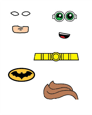 free lego batman printables