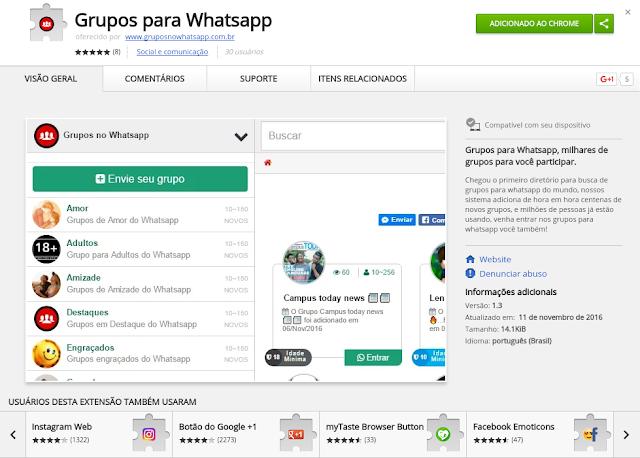 Extensão Whatsapp