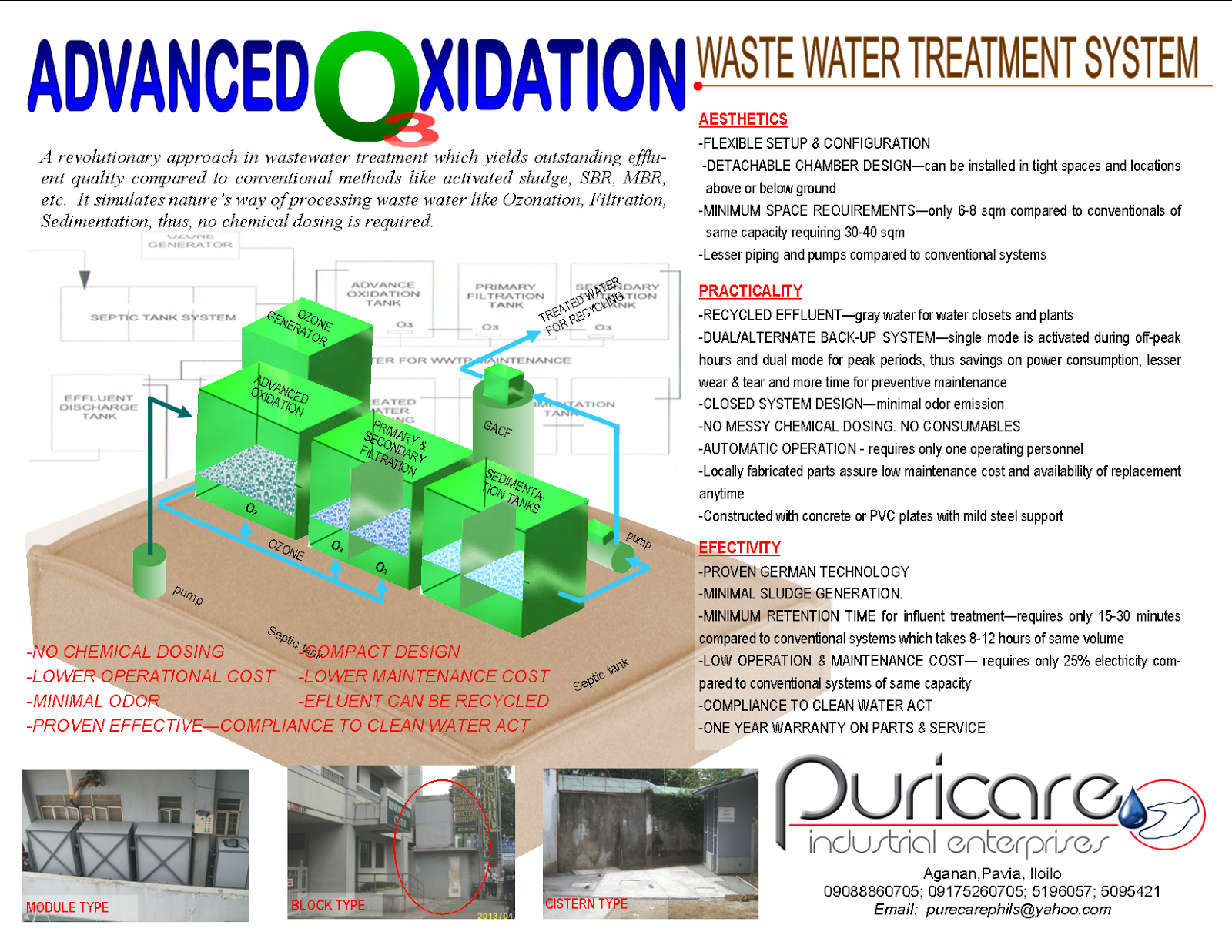 Puricare Industrial Enterprises Advanced Oxidation Waste Water S Sbr Process Flow Diagram Treatment System Has Been Used To Treat Wastewater From Groundwater Remediation Pump And Systems
