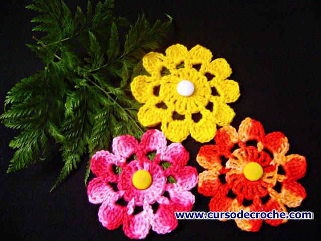 flores coleção fortuna edinircrochevideos