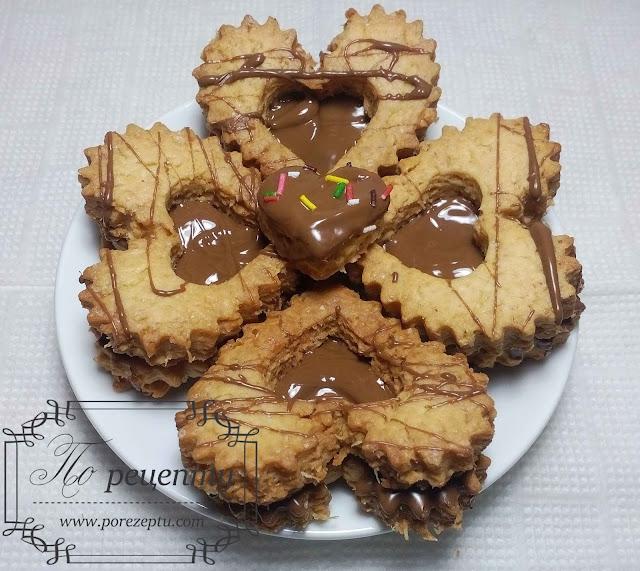 легкое песочное печенье