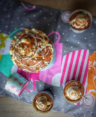 torta e muffin con mele e zucca