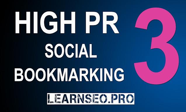DA 30 Social Bookmarking Sites