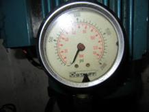 KL. Barombong Steering Gear System Pressure Gauge