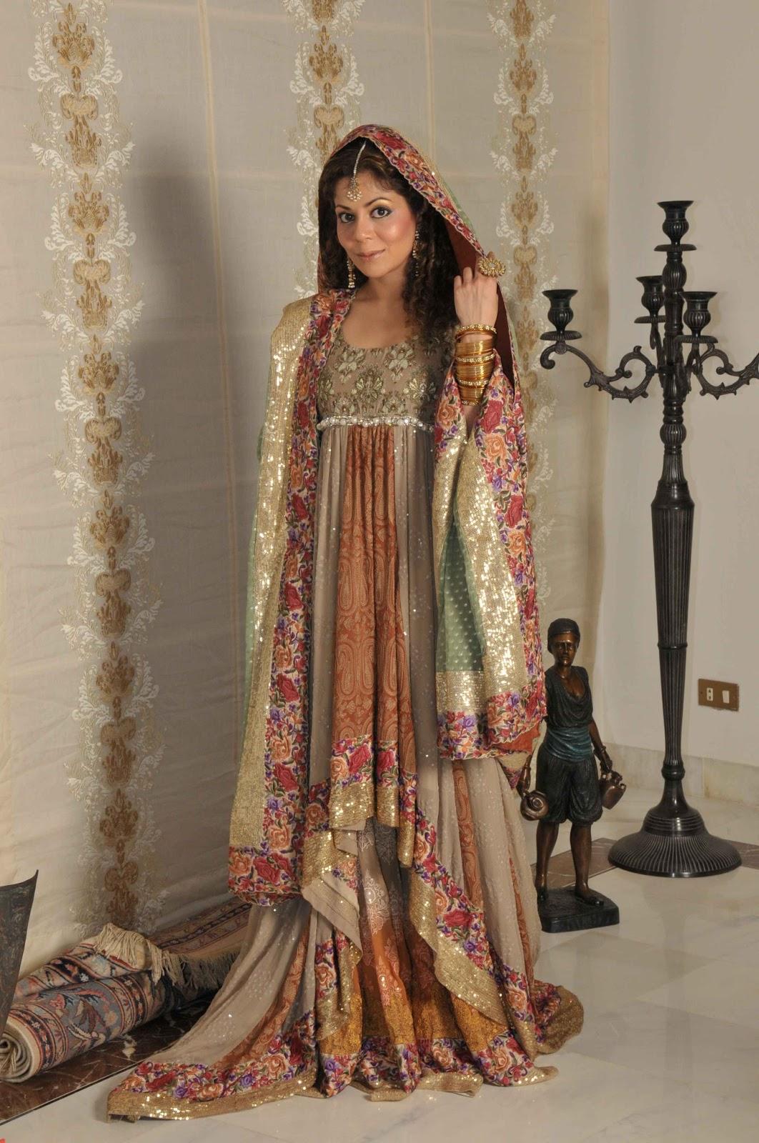 Fashion World Latest Fashion Wedding Lehnga With Long