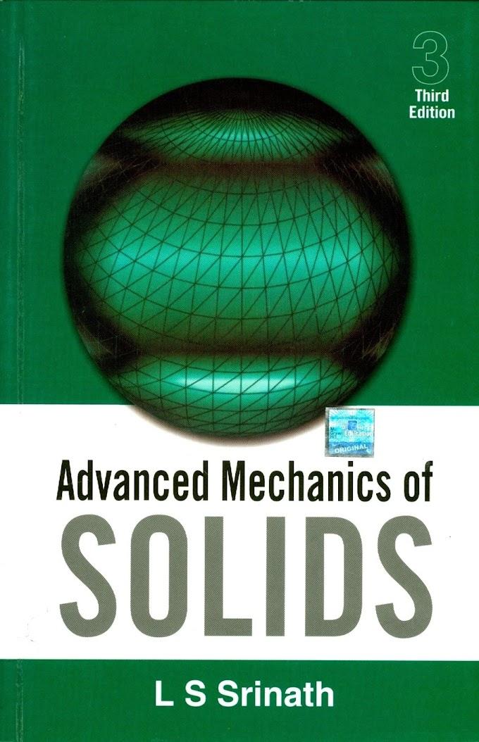[PDF] Advanced  Mechanics of Solids by L S Shrinath