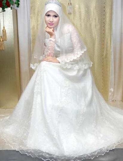 Trend Model Baju Muslim Pengantin Modern Untuk Anda