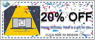 Happy Birthday Exclusive Discount.