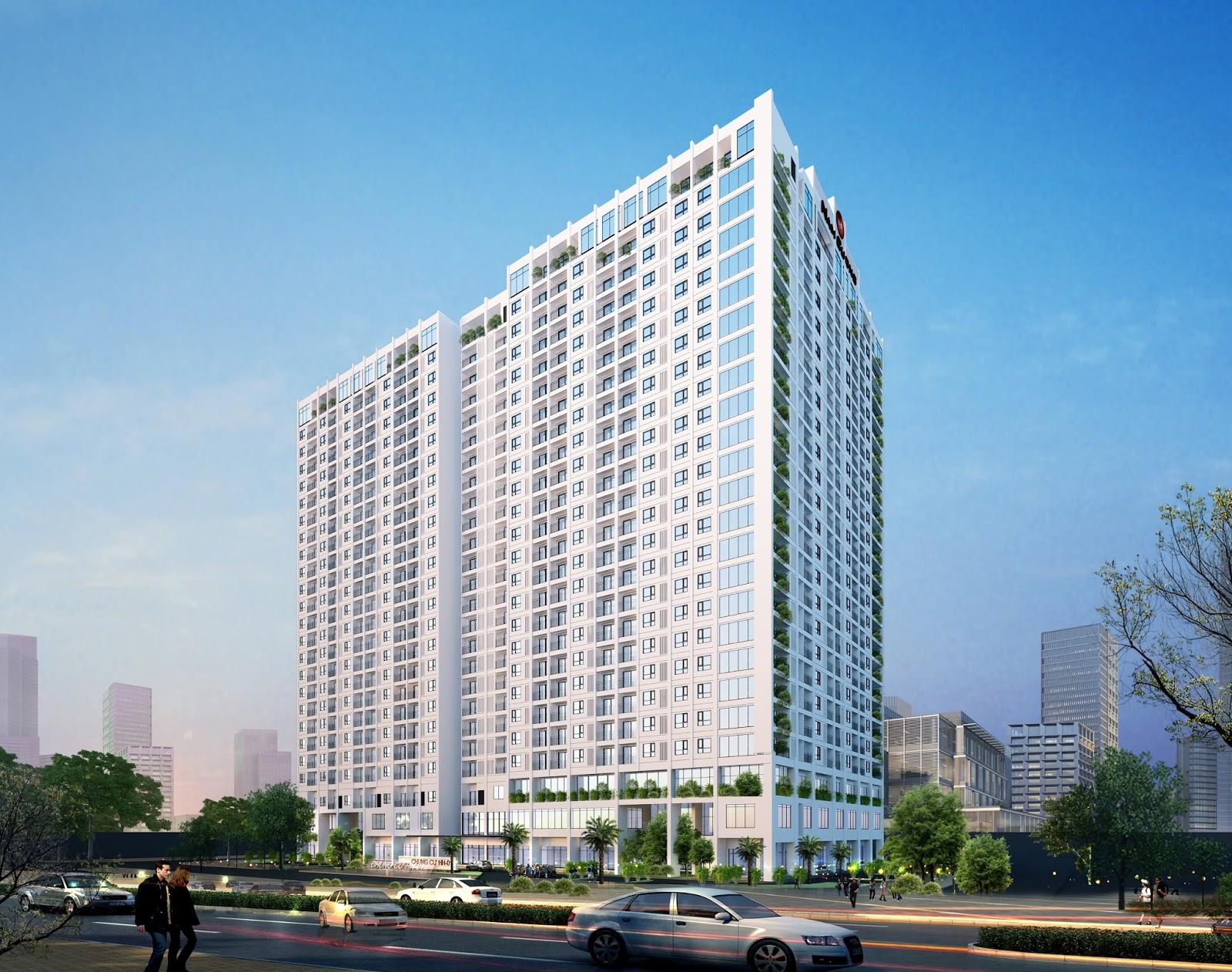 Thiết kế tòa HH01 Complex Building Nam Cường