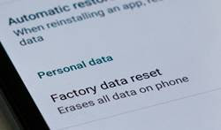 Cara Mengatasi Error Camera Failed dengan Factory Reset Android