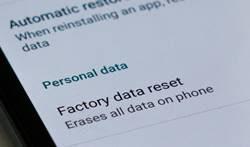 Cara Mengatasi Error Camera Failed dengan Factory Reset Android