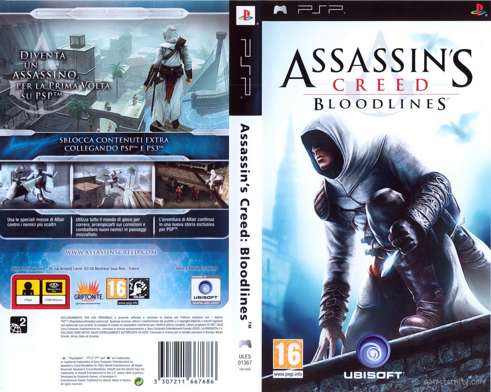 Games Assassins Psp