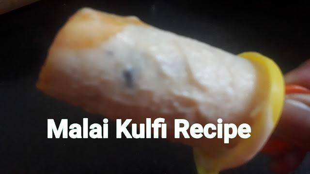 Image of malai kulfi