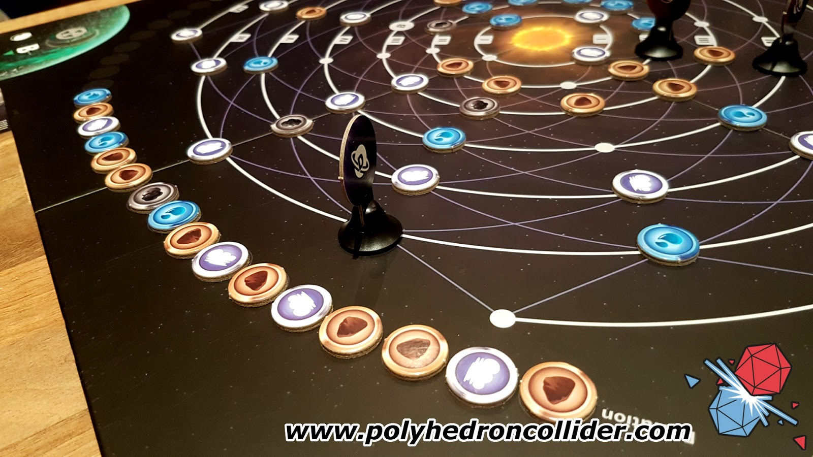 Planetarium board game review evolution track