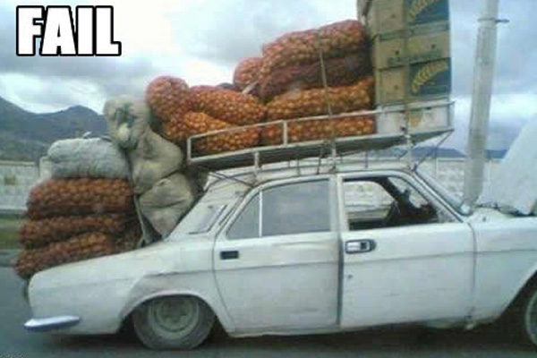 Russian Car Fail