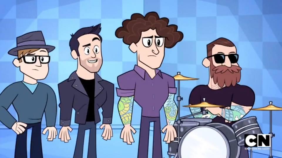 Fall Out Boy Apareceu No Desenho Do Jovens Titas Assista Fall