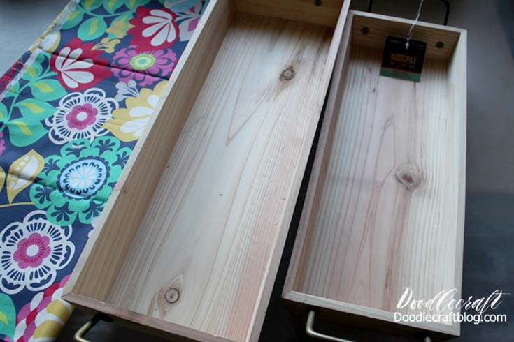 Mod Podge Crafts Wood Stacking Trays From Hobby Lobby