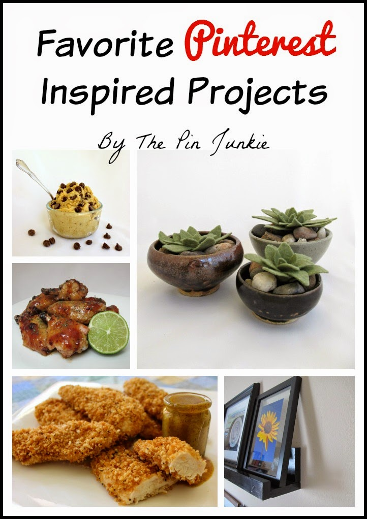 Favorite Pinterest Inspired Projects