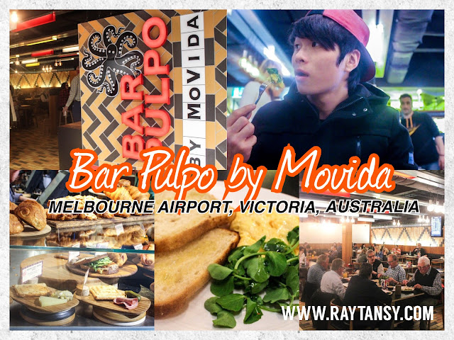 Ray Tan 陳學沿 (raytansy) ; Bar Pulpo by Movida @ Melbourne Airport, Victoria, Australia