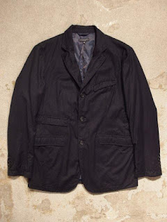 "Engineered Garments ""Andover Jacket & Cinch Pant in Dk.Navy Worsted Wool"""
