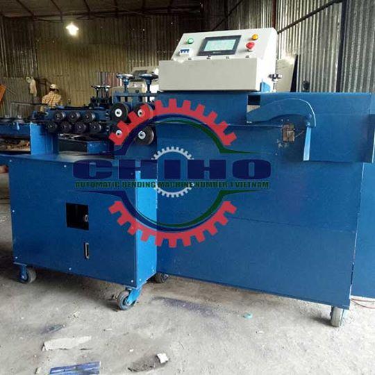 Nguyên lý hoạt động của máy bẻ đai sắt tự động