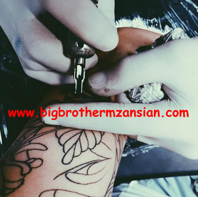 BBMzansi 2016 Chelsea Humfrey gets New Tattoo