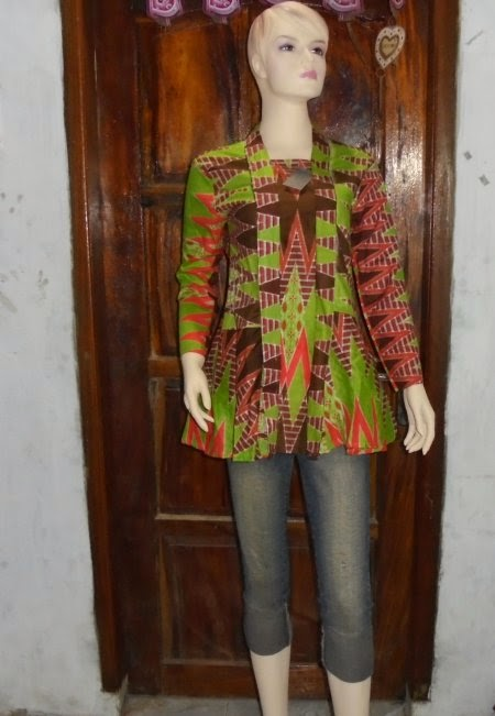 model baju batik dress rangrang
